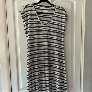 Lou & Grey Loft Maxi Dress w/Blue and Cream Stripe